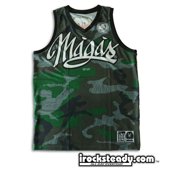 MAGAS (Floral Camo) Jersey