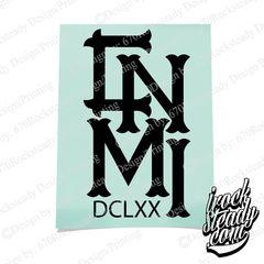 CNMI DCLXX ROYAL DECAL