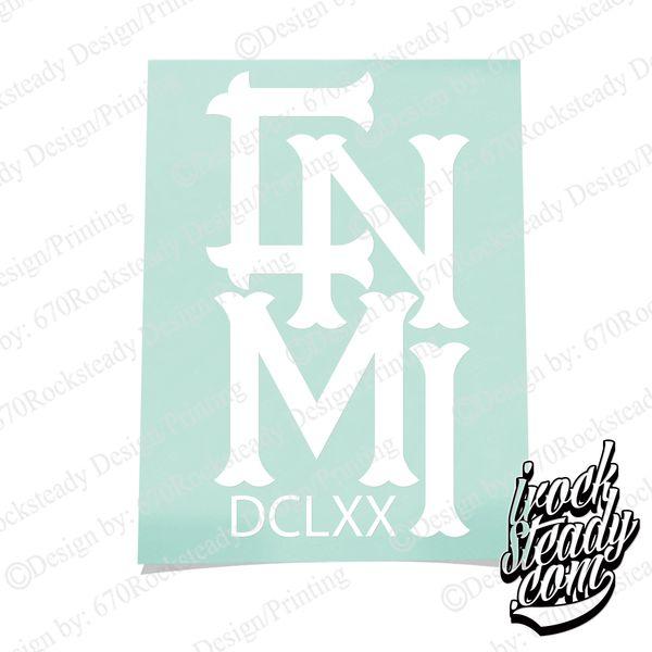 CNMI DCLXX DECAL