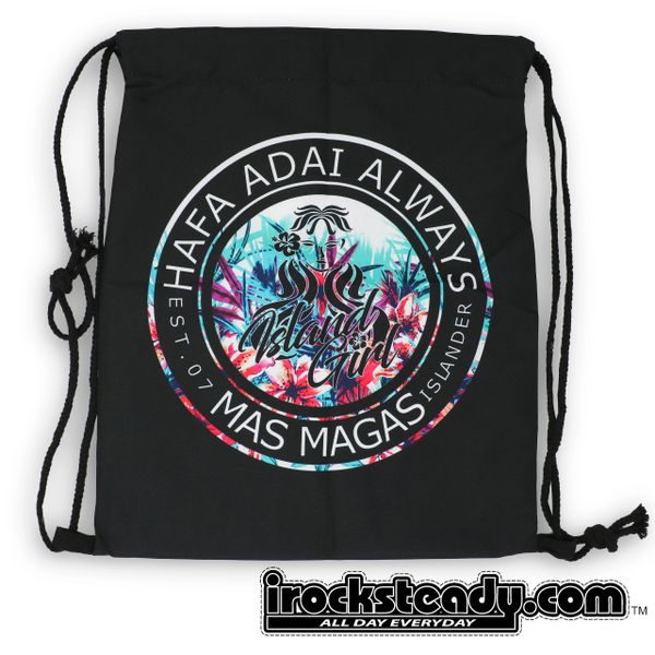MAS MAGAS (HA Always) Drawstring Bags