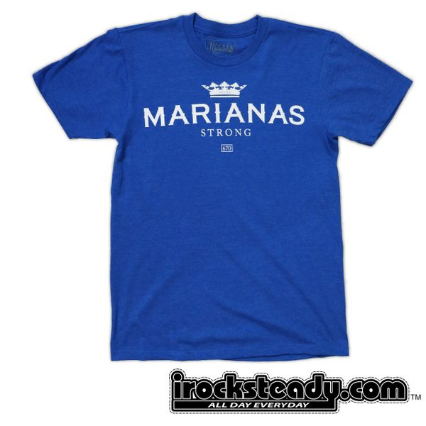 MAGAS (Marianas Strong DCLXX) Blue Tee