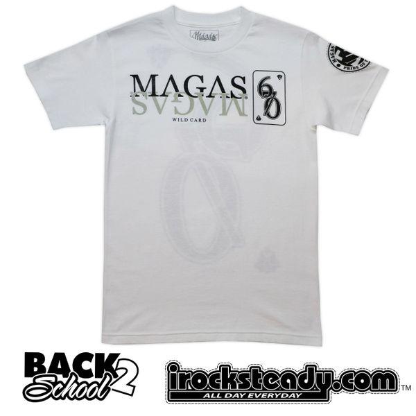 MAGAS (Wild Card) White Tee