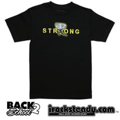 MAGAS (Strong) Black/Yellow Tee