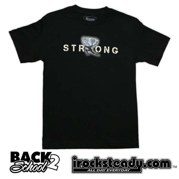 MAGAS (Strong) Black/Khaki Tee