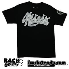MAGAS (Signature Stitch) Black Tee