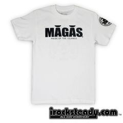 MAGAS (Haggan) White Tee