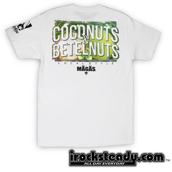 MAGAS (C&B Local Style) White Tee