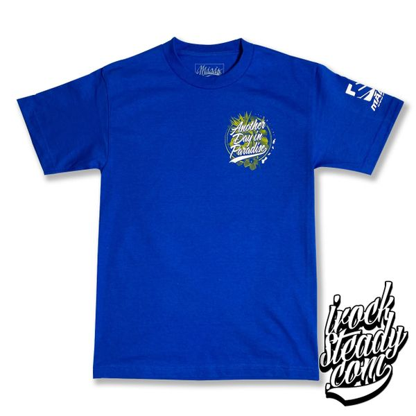 MAGAS (Another Day in Paradise II) Royal Blue Tee