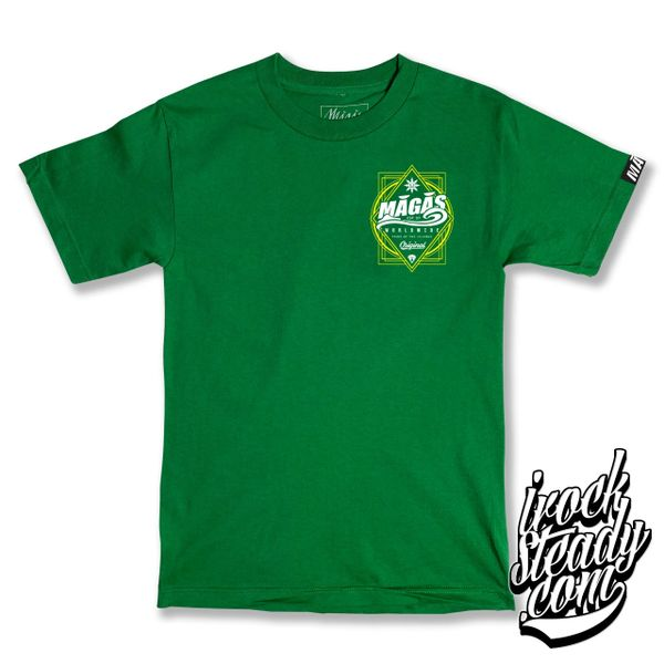 MAGAS (WW Pride of the island) Kelly Green Tee