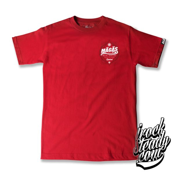 MAGAS (WW Pride of the island) Red Tee
