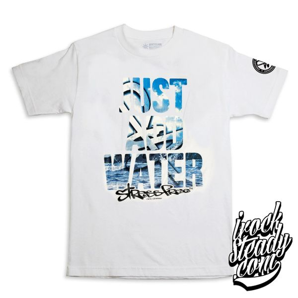 STRESSFREE (Just Add Water) White Tee