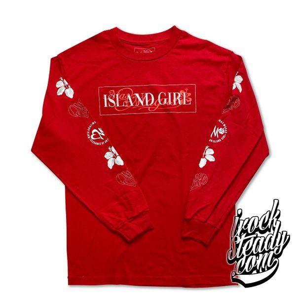 MAS MAGAS (Elegance of an Island Girl) Red Longsleeve