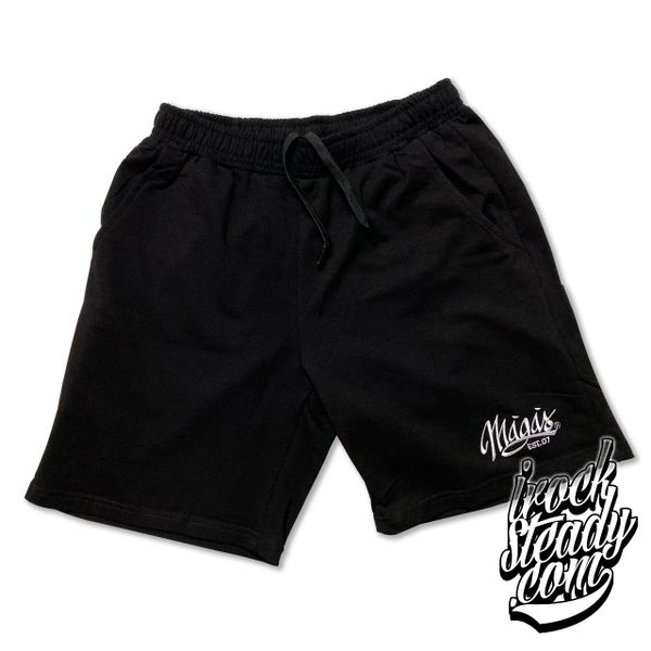 MAGAS (Signature) Black Fleece Shorts