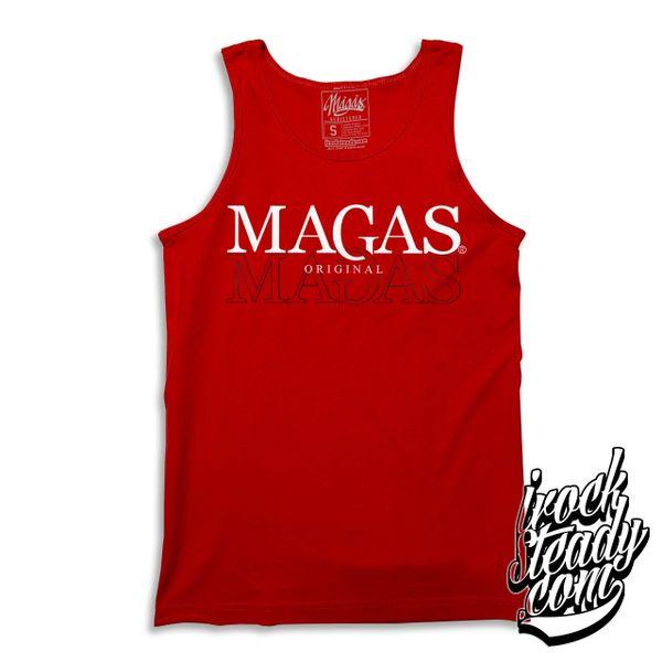 MAGAS (Original) Red Tanktop