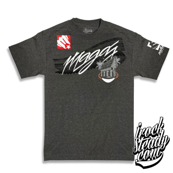 MAGAS (Heritage) Charcoal Heather Tee