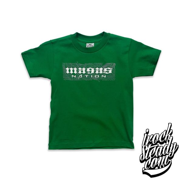 MAGAS (Nation III) Kelly Green Youth TEE