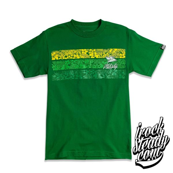 MAGAS (Paradise Floral) Kelly Green Tee