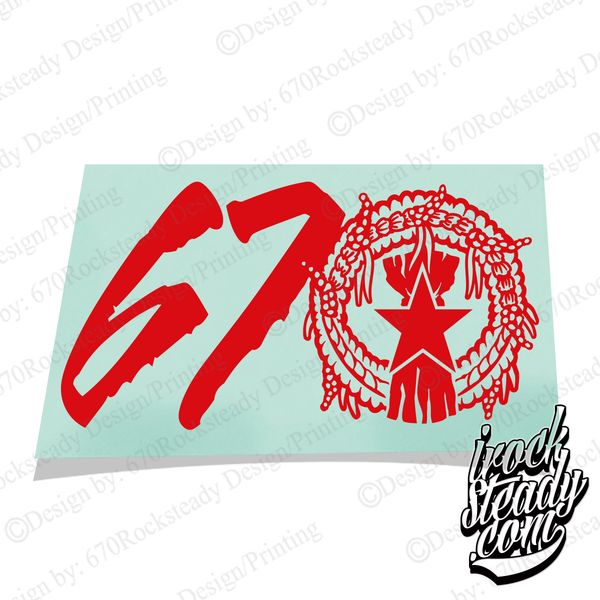 MAGAS 670 SEAL DECAL