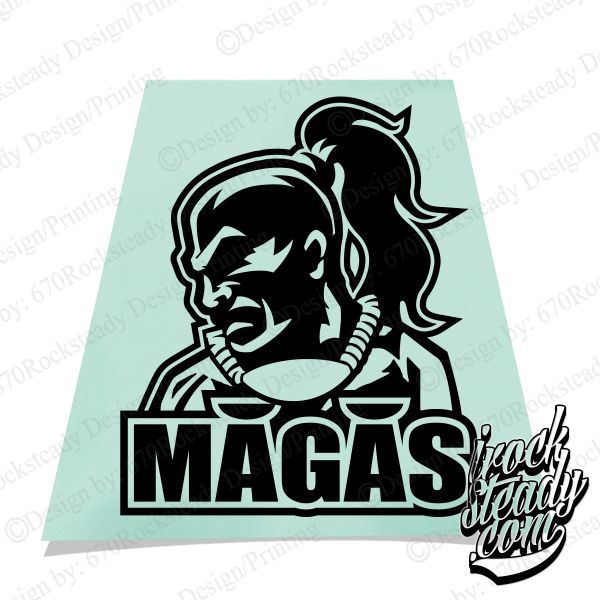MAGAS LEGEND DECAL