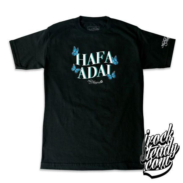 MAS MAGAS (HA Butterfly) Black Tee