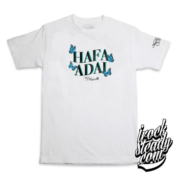 MAS MAGAS (HA Butterfly) White Tee