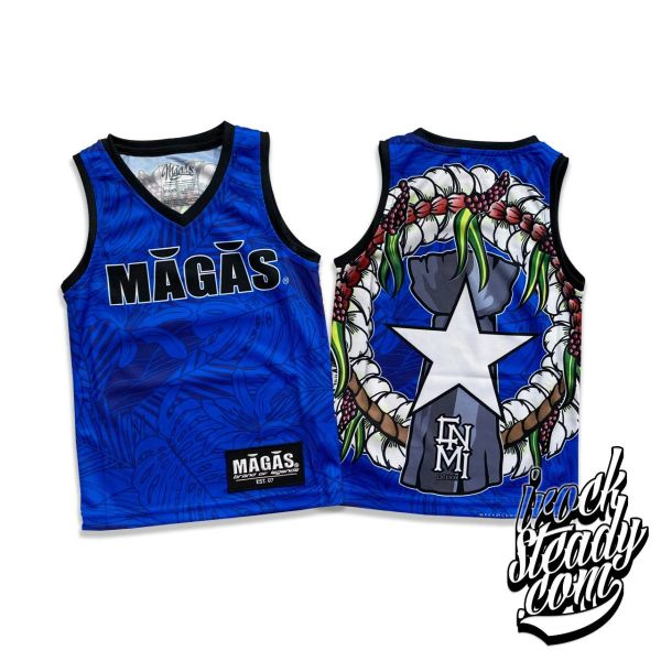 MAGAS (Paradise Seal) Blue Youth Jersey
