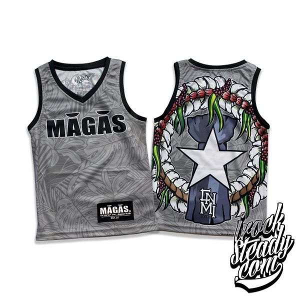 MAGAS (Paradise Seal) Gray Youth Jersey