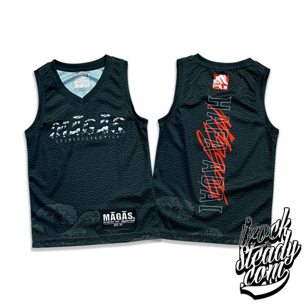 MAGAS (Island Lifestyle) Black Youth Jersey