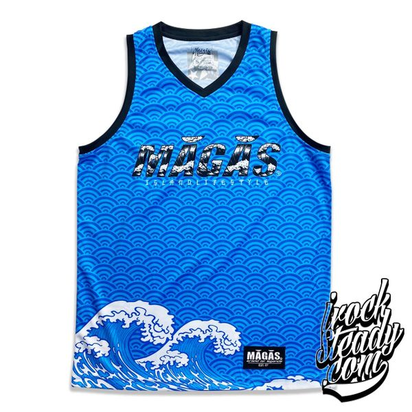 MAGAS (Island Lifestyle) Blue Jersey