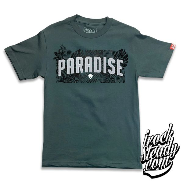 MAGAS (Paradise) Charcoal Tee