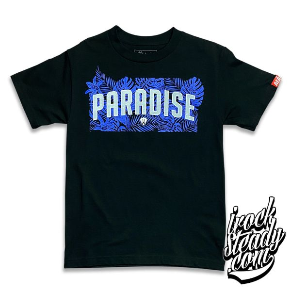 MAGAS (Paradise) Black/Blue Tee