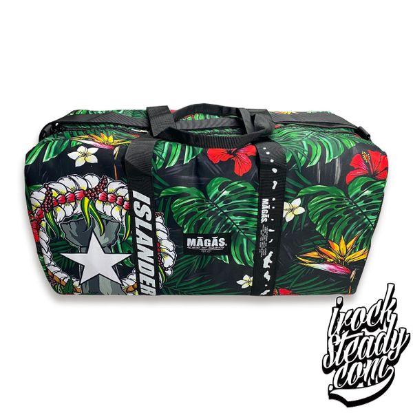 MAGAS Hafa Adai Floral Duffel Bag