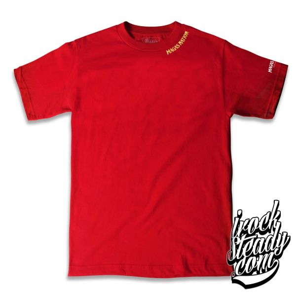 MAGAS (Brand of Legends) Red Tee