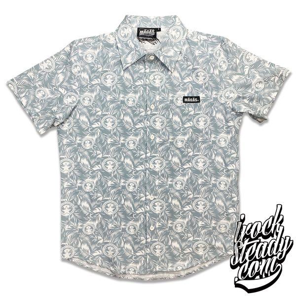 MAGAS (Paradise Seal) Gray Button Shirt