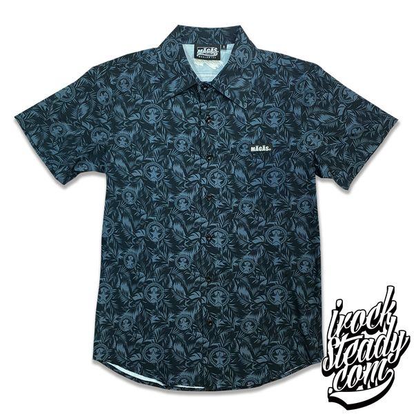 MAGAS (Paradise Seal) Black Button Shirt