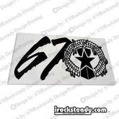 670 SEAL DECAL