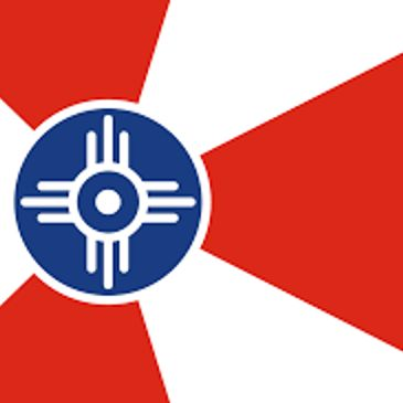Flag of Wichita, Kansas