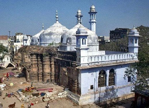 Heart-wrenching image of Mosque built on Hindu holy place of Kashi Viswanath Temple