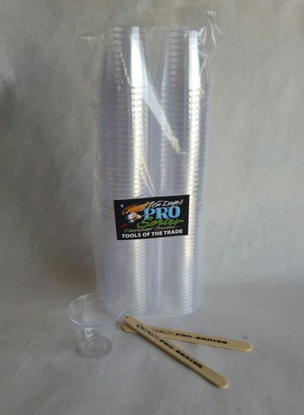 100 - 1 oz Mixing Cups