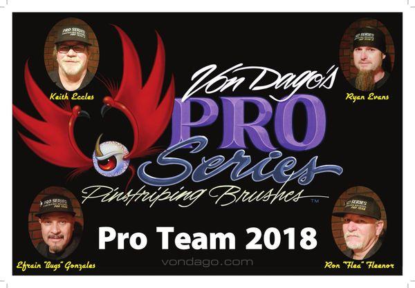 2018 Pro Team Poster ~ *FREE*