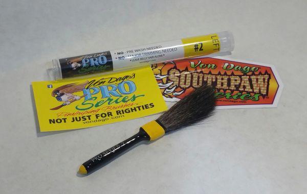 Left Handed 2 Pro Series Premium Pinstriping Brush Von Dago Pro Series Pinstriping Brushes