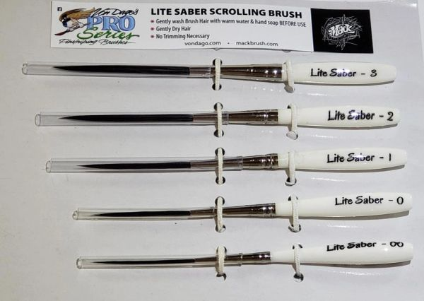 Lite Saber 5 Brush SET