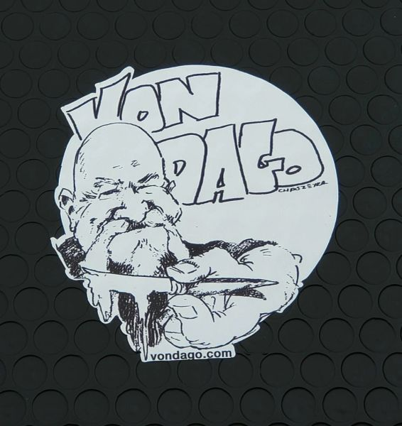 """VON DAGO """"Sticker"""""""