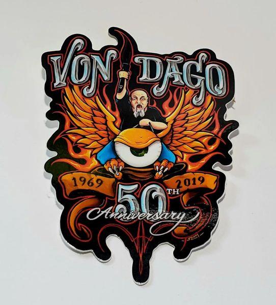 Dago 50th Anniversary Sticker