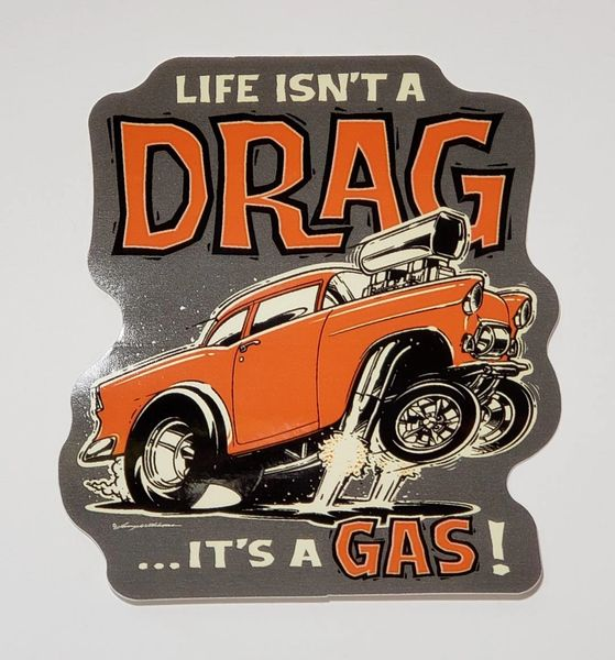 "It's a GAS - 4"" Sticker"