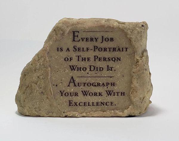 Motivational Desk Rock