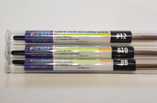 Saber Liner LARGE 3 Brush Lettering SET