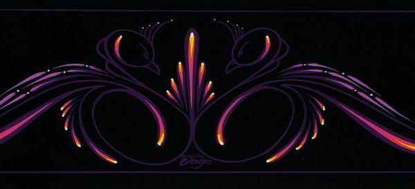BLACK Swans - Original Art - Metal Panel