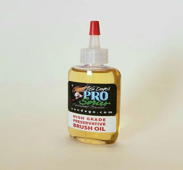2 Oz Brush Oil Sample