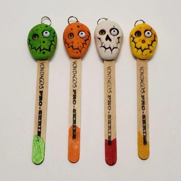 "Hand Carved Pro Series Novelty ""Monster Sticks"""